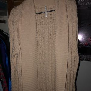 Sweaters - Long Knit Cardigan